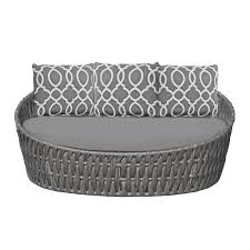 Aria Patio Furniture Outdoors The - aria daybed round source furniture commercial outdoor furniture