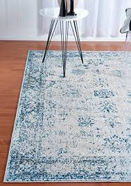2 X 7 Runner Rug Unique Loom Sofia Collection Light Blue 2 X 7 Runner Area Rug 2