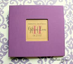 bridal gift record book wedding gift log lading for