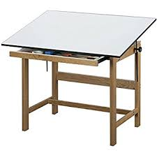 Drafting Table Pad Amazon Com Alvin Wtb48 Titan Solid Oak Drafting Table Natural