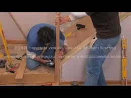 Replace Banister With Half Wall Diy How To Remodel A Stairway Dvd Video Youtube