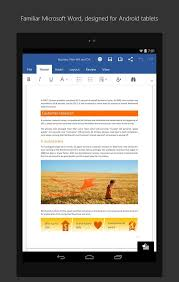 word for android microsoft word for tablet apk thing android apps free