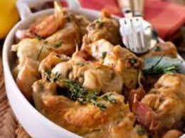cuisiner lapin entier lapin à la moutarde sans vin blanc facile recette sur cuisine