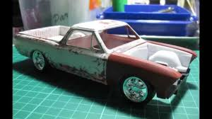 1966 el camino 1966 chevrolet el camino 1 25 scale model part 1 youtube