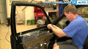 toyota side mirror replacement how to install replace side rear view mirror toyota corolla 98 02