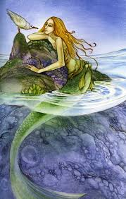 Purple Paint Law by Dolphins And Mermaids Drawings Underwater Beautiful Female