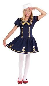Halloween Flight Attendant Costume Child U0027s Sweetie Deck Sailor Costume Candy Apple Costumes