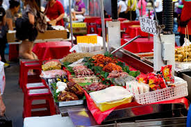 namdaemun market is the largest traditional market with all the