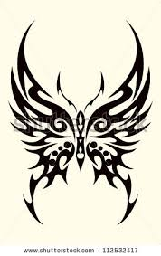 butterfly tribal pinteres