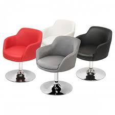 Leather Swivel Dining Chairs Swivel Dining Chairs With Casters Leandrocortese Info