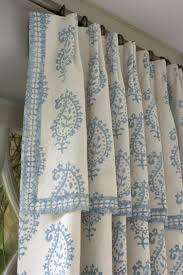 Sewing Drapery Panels Together I Could Sew A Valance Like This On Top Of My Pinch Pleats Maybe