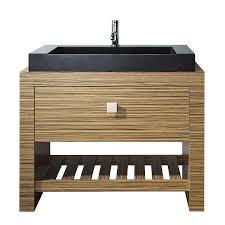 shop avanity knox zebra wood veneer vessel single sink bathroom avanity knox zebra wood veneer vessel single sink bathroom vanity with wood top common