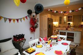 1st birthday party ideas for mickey mouse birthday table decoration ideas image inspiration