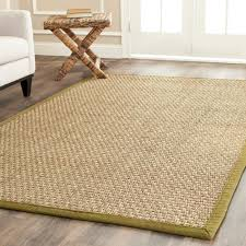 grass rug ikea flooring green and cream seagrass rug for minimalist flooring decor