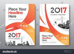 orange color scheme city background business stock vector