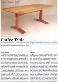 Craftsman Coffee Table Craftsman Coffee Table Plans U2022 Woodarchivist