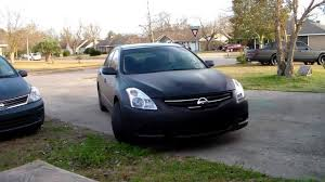 nissan black car old plasti dip a car 2010 nissan altima youtube