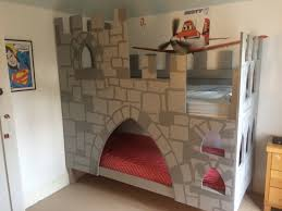 Bunk Bed Castle Home Made Bunk Bed Castle A Few Mdf Boards Added To A Normal