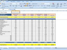 Property Management Excel Template Landlords Spreadsheet Template Rent And Expenses Worksheet For