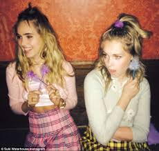 coke rinse hair suki waterhouse washes her hair with coca cola to achieve look