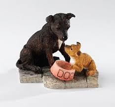 staffordshire bull terrier figurine staffordshire bull
