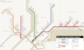 Metro Ny Map by Unofficial Map Metro North Railroad New York By Transit Maps