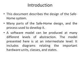 Home Design Software Classes Case Study Safe Home Security System Ppt Video Online Download