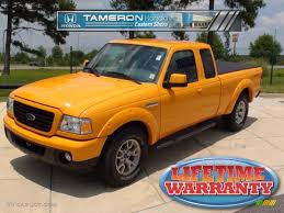 Ford Ranger Options 2008 Grabber Orange Ford Ranger Sport Supercab 4x4 30432557 Photo