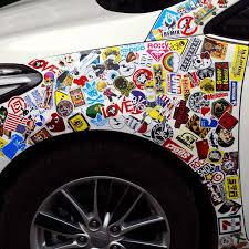 halloween car stickers amazon com laptop stickers 100 pcs bezgar car stickers