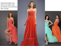 choose a bright color prom dress