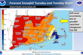 national weather forecast map gov baker warns drivers to stay the roads during tomorrow s