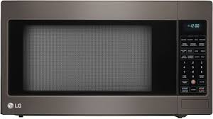 Lg Microwave Toaster Lg Lcrt2010bd 2 0 Cu Ft Countertop Microwave Oven With Sensor