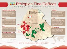 Map Of Ethiopia Ethiopia Organizes The 4th World Coffee Conference