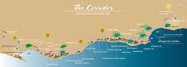 san jose cabo map hotels transportation services in los cabos by cora transportation