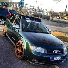 2005 audi s4 wheel offset 2005 audi s4 dropped 1 3 custom rims custom offsets shop