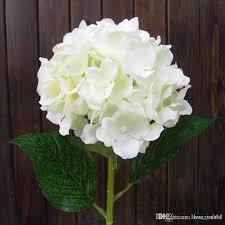 white hydrangeas real looking white hydrangea flower 80cm 31 5artificial hydrangeas