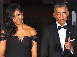obama s barack and michelle obama are back from vacation and looking fly trace