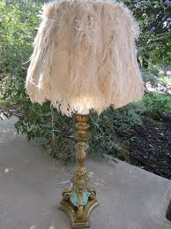 ostrich feather l shade sold rachelclarkdesigns com