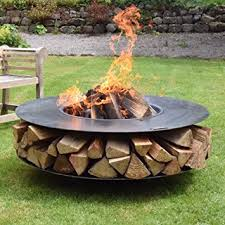 Firepits Co Uk Firepits Uk Made In The Uk Flat Ring Of Logs 120 Co Uk