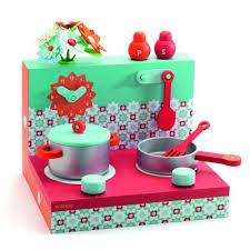 djeco cuisine cuisine les boîtes en bois cuisinière djeco magasin de