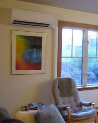 Wall Mount Heat And Air Unit Installing A Ductless Minisplit System Greenbuildingadvisor Com