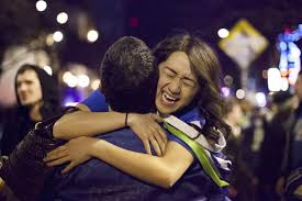 seattle residents celebrate seahawks bowl win ny daily news