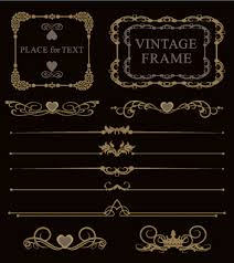 luxury ornaments borders with frame vector 05 vector frames