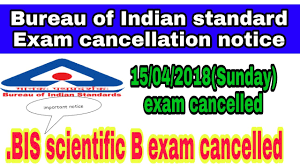 bureau standard bureau of indian standard scientific b cancelled