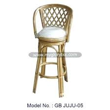 Outdoor Wicker Swivel Chair Bar Stool Braxton Pe Wicker Swivel Bar Stool Rattan Swivel Bar