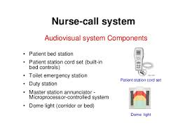 electromechanical systems in hospitals 061205