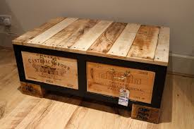 unusual coffee tables diy wine crate coffee table altogether this