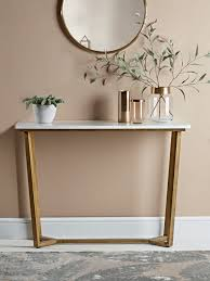 Marble Console Table Marble U0026 Brass Console Table