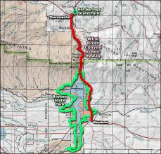 map of thermopolis wyoming springs state park wyoming state parks