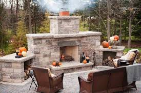 Backyard Fireplace Ideas Appealing Simple Outdoor Fireplace Designs 83 With Additional Home